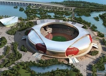 浙江省湖州奥体公园体育场
